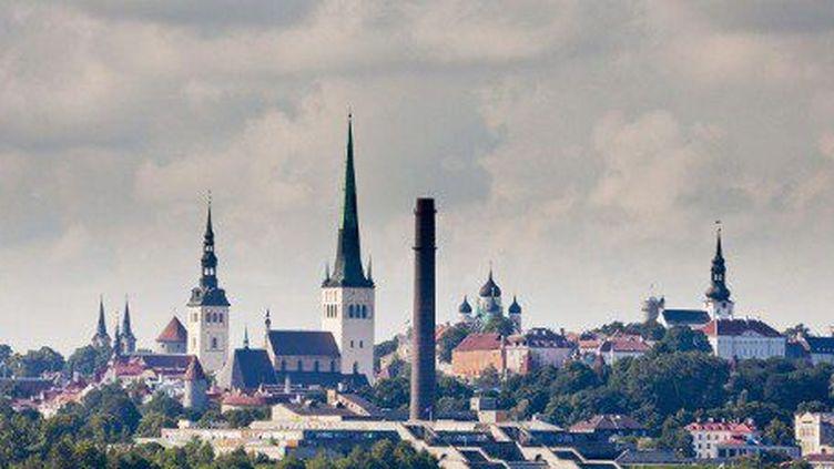 Tallin, capitale de l'Estonie. (AFP)