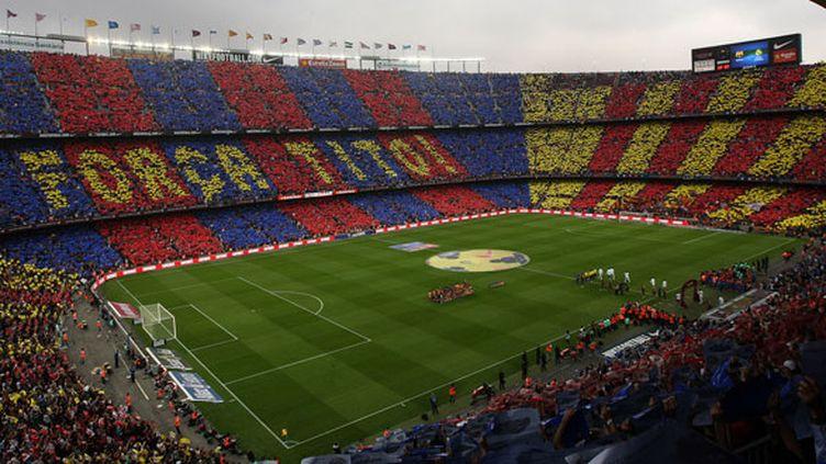 Le Camp Nou avait rendu hommage à Tito Vilanova lors de l'hospitalisation de ce dernier le week-end dernier