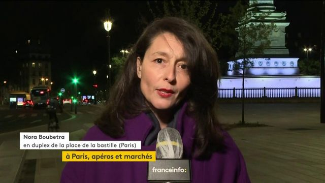 Déconfinement à Paris : calme à la Bastille, apéros canal Saint-Martin