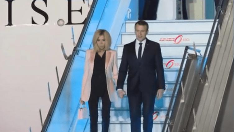 Macron arrive en Inde - vendredi 9 mars (FRANCE 3)