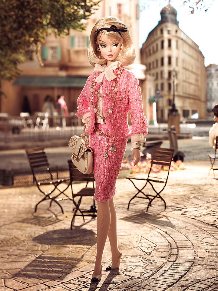 "Exposition ""Barbie rétro chic"", modèle Preferably Pink Barbie (2008)  (Barbie)"