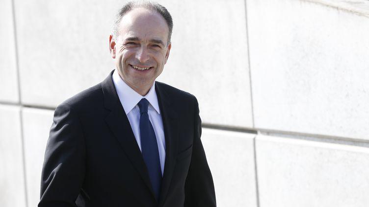 Jean-François Copé à Meaux (Seine-et-Marne), le 12 mars 2016. (THOMAS SAMSON / AFP)