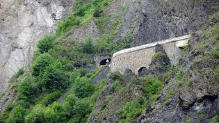 Le tunnel du Chambon (Isère), le 12 juin 2015. (JEAN-PIERRE CLATOT / AFP)