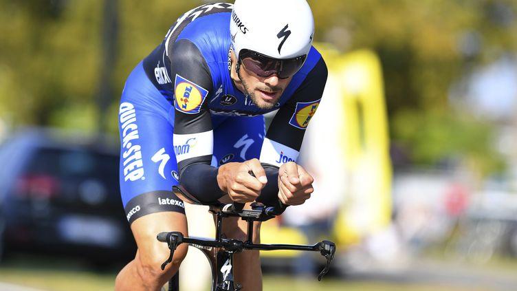 Tom Boonen sur la deuxième étape de l'Eneco Tour 2016. (DE WAELE TIM / TDWSPORT SARL)