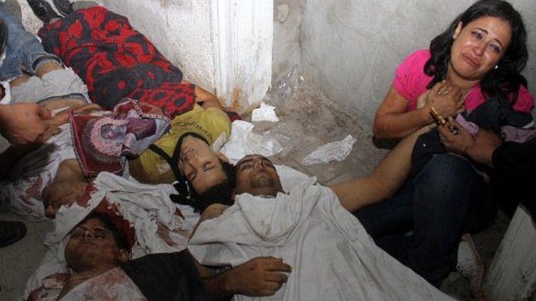 Le bilan est au moins de 24 morts et 200 blessés. (AFP)