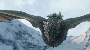 """Jon Snow en fâcheuse posture, dans le premier épisode de la saison 8 de """"Game of Thrones"""", diffusée le 14 avril 2019 sur HBO. (BESTIMAGE / HBO)"""