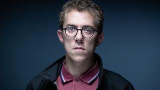 Le journaliste Valentin Gendrot, le 1er septembre 2020, à Paris. (JOEL SAGET / AFP)