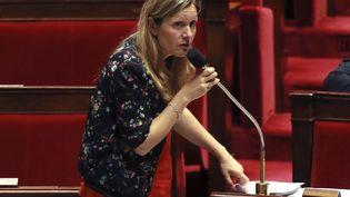 La députéeYaël Braun-Pivet, à Paris, le 27 juillet 2017. (JACQUES DEMARTHON / AFP)