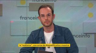 Tous les soirs, Clément Viktorovitch décrypte les discours politiques et analyse les mots qui font l'actualité (19 ocotbre 2021). (FRANCEINFO / RADIO FRANCE)