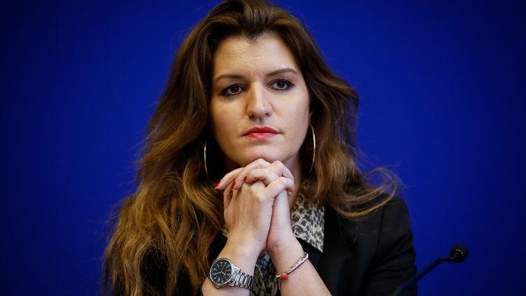 Marlène Schiappa,secrétaire d'État à l'Égalité femmes-hommes, le 14 février 2020 à Paris. (THOMAS PADILLA / MAXPPP)