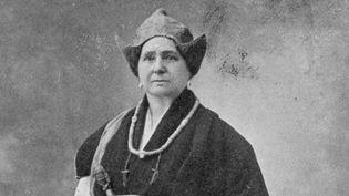 Alexandra David-Néel en costume tibétain  (MARY EVANS/SIPA)