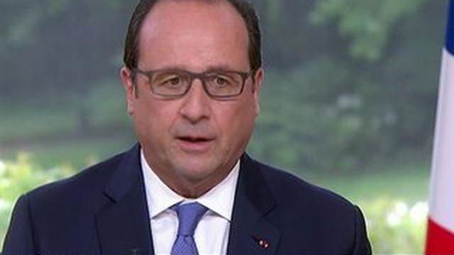14-juillet : François Hollande se veut combatif