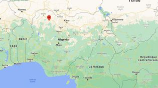Le rapt a eu lieu dans la nuit du jeudi 25 au vendredi 26 février 2021 dans le collège-lycée de Jangebe, dans l'Etat de Zamfara (Nigeria). (GOOGLE MAPS)