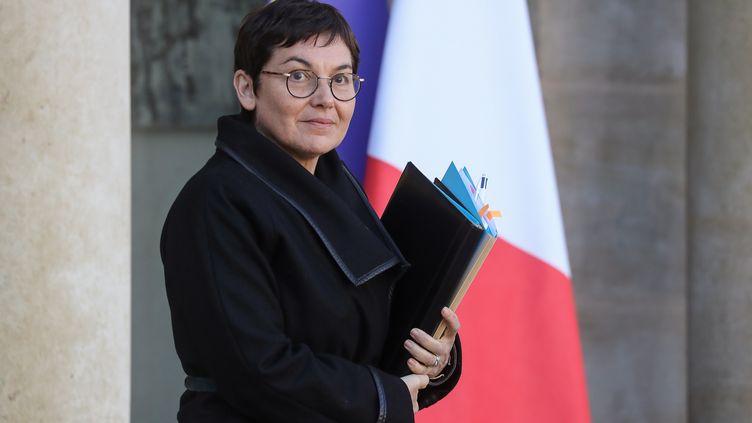 La ministre des Outre-Mer Annick Girardin, à Paris, le 26 février 2020. (LUDOVIC MARIN / AFP)