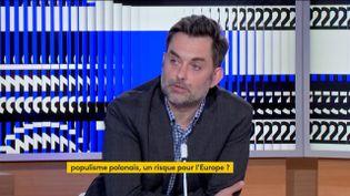 Frédéric Zalewski, spécialiste de la Pologne (FRANCEINFO)