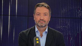 Arnaud Leroy , membre du conseil d'administration de La République en marche. (RADIO FRANCE / JEAN-CHRISTOPHE BOURDILLAT)