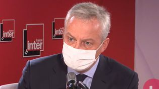 Bruno Le Maire était l'invité de France Inter vendredi 30 octobre.  (FRANCE INTER)