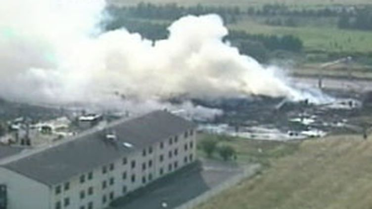 Le crash du Concorde à Gonesse (Val d'Oise), le 25 juillet 2000 (France 2)