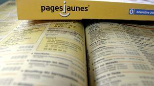 L'édition 2006 de l'annuaire des Pages jaunes. (MAXPPP)