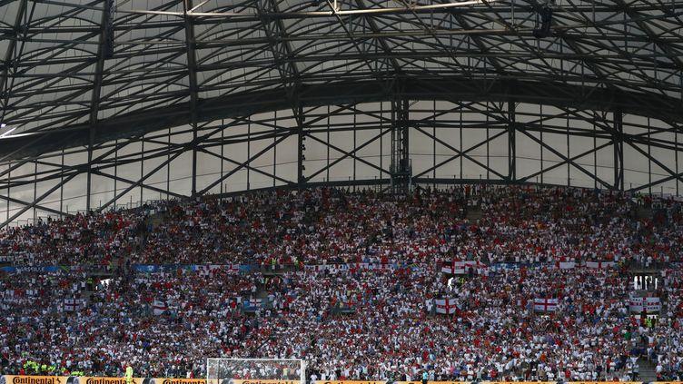 Le stade Vélodrome de Marseille, à l'occasion de la rencontre Angleterre-Russie, samedi 11 juin 2016. (KIERAN MCMANUS / BACKPAGE IMAGES LTD)