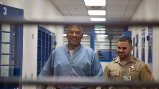 O.J. Simpson au Lock Correctional Center de Lovelock dans le Nevada (Etats-Unis), le 20 juillet 2017. (SHOLEH L MOLL-MASUMI / AFP)