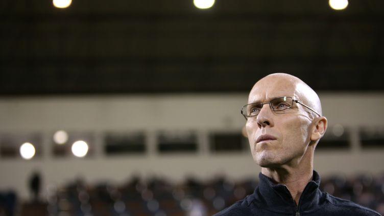 Le nouveau coach du Havre, Bob Bradley (KARIM JAAFAR / AL-WATAN DOHA)
