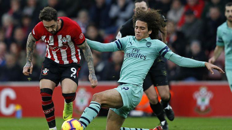 Arsenal et Guendouzi se sont inclinés sur la pelouse de Southampton (ADRIAN DENNIS / AFP)