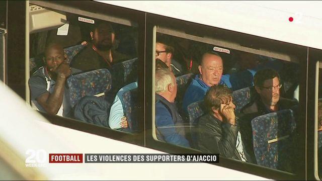Football : la violence des supporters d'Ajaccio