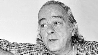 Vinícius de Moraes le 13 janvier 1972à Rio de Janeiro  (Archive / Agência Estado / AFP)