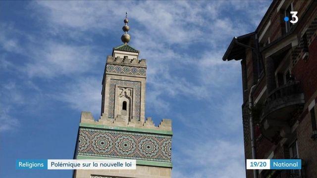 """Religion :le projet de loi contre les """"séparatismes"""" faitpolémique"""