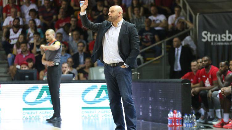 Zvedan Mitrovic, l'entraîneur de l'AS Monaco (ELYXANDRO CEGARRA / NURPHOTO)