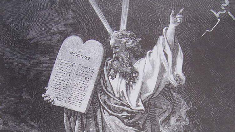 (Moïse et les dix commandements)