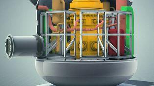 Une image du projet de SMR piloté par EDF. (EDF)