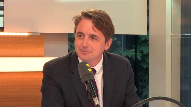 """Philippe Moreau-Chevrolet, communicant, président de MCBG Conseil, enseignant à Sciences Po, était invité des """"Informés de franceinfo"""" (FRANCEINFO / RADIOFRANCE)"""