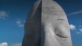 L'une des sculptures de l'écomusée de Cannes (FRANCE 3)