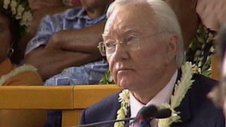 Gaston Flosse, sénateur (ex-UMP) de Polynésie française (© France 3)