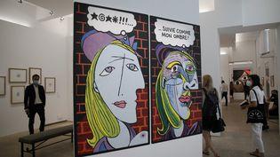 La première exposition consacrée aux liens entre les œuvres de Picasso et la bande-dessinée se tient jusqu'au 3 janvier prochain au Musée Picasso de Paris. (GINIES/SIPA)