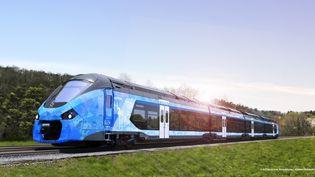 Un train à hydrogène (ALSTOM DESIGN&STYLING)