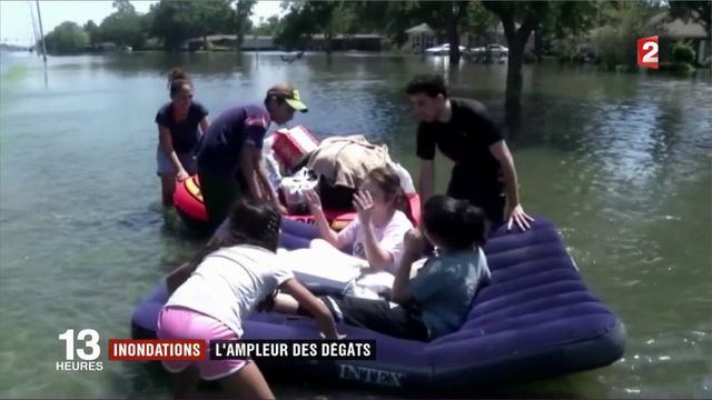 Tempête Harvey : après les inondations, le bilan