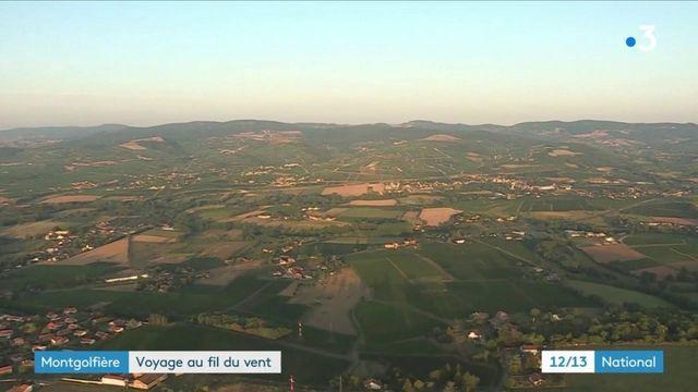 Insolite : un tour de France en montgolfière