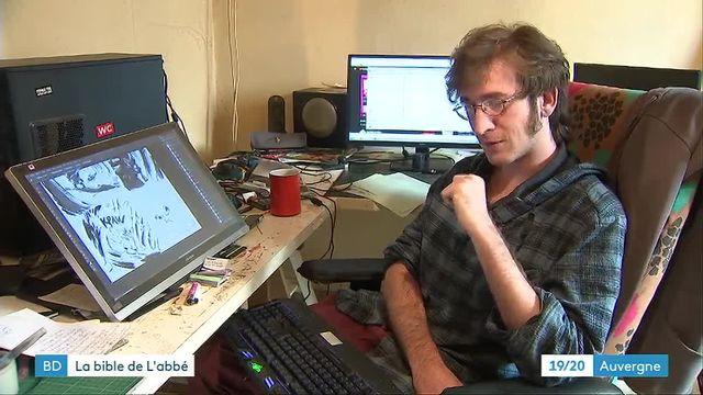 L'Abbé, un auteur de bande-dessinée qui représente la nouvelle génération de Fluide glacial