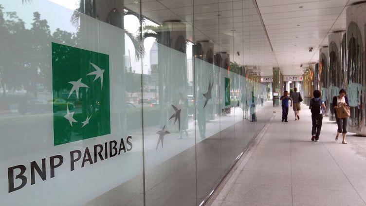 Des bureaux de la banque BNP Paribas à Singapour, le 2 décembre 2011. (LAU FOOK KONG / ST / SINGAPORE PRESS HOLDINGS)