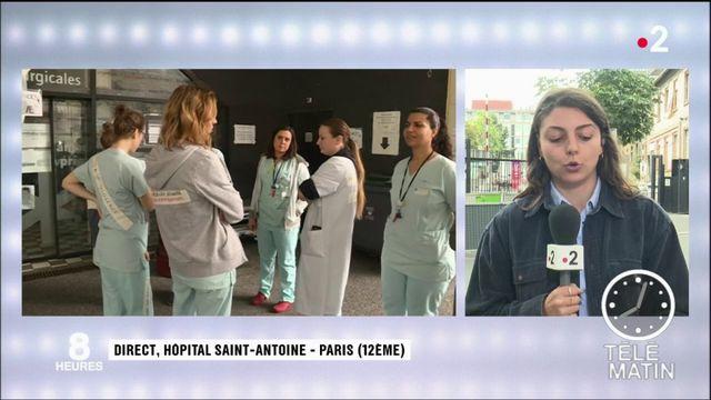 Hôpital  : le mouvement de grève aux urgences s'étend à Paris