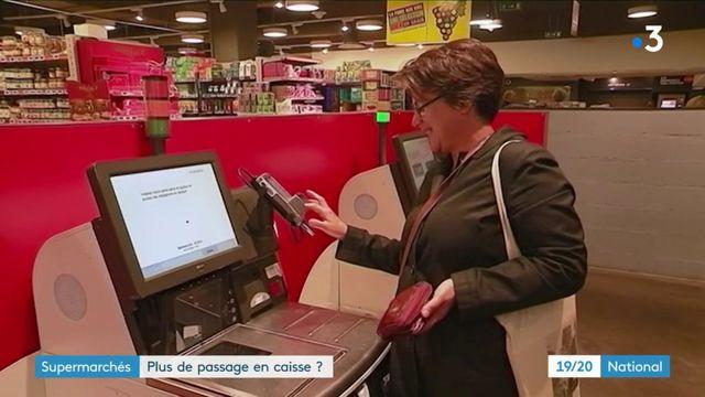 Supermarchés : vers la fin du passage en caisse ?