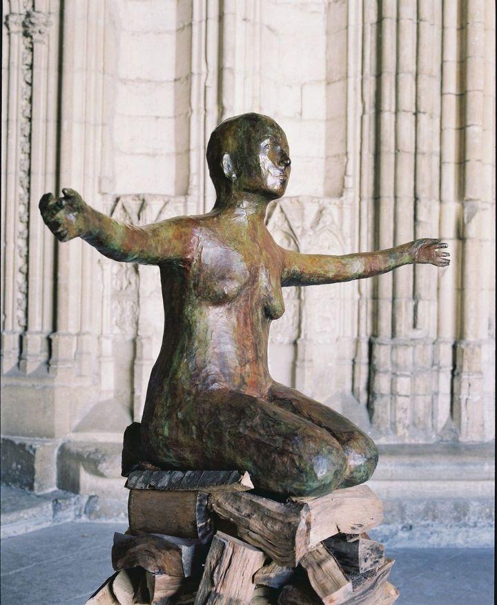 Pyre Woman Kneeling, Kiki Smith,2002  (François Halard)