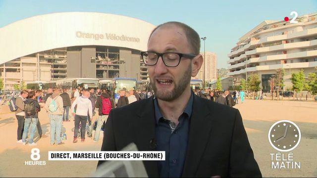 Ligue Europa : les supporters de l'OM sur le départ