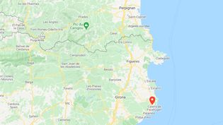 Un énorme incendie a détruit 415 hectares de végétation en juilletdans le parc naturel du cap de Creus à quelques kilomètres dePalafrugell. (GOOGLE MAPS)
