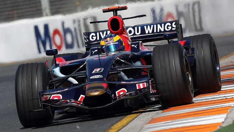 Sébastien Bourdais (Toro Rosso) lors du GP d'Australie en 2008 (TORSTEN BLACKWOOD / AFP)
