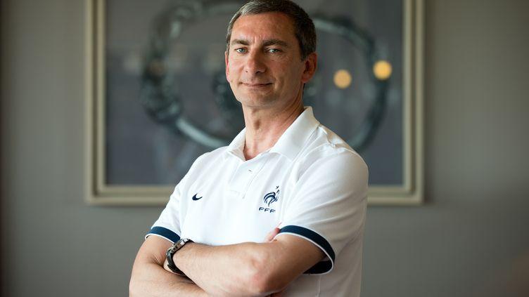 Pascal Garibian a réagi fermement aux critiques du coach d'Angers Stéphane Moulin envers le corps arbitral (JEAN-SEBASTIEN EVRARD / AFP)