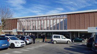 Le centre hospitalier de Dunkerque, le 24 février 2021. (REMI BRANCATO / FRANCE-INTER)